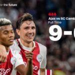 Trận thắng đậm gây sốc châu Âu: Ajax hạ đối thủ 9-0, ăn đứt Bayern Munich